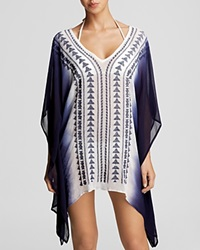 Surf Gypsy Embroidered Swim Cover Up Tunic