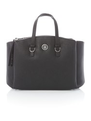 Tommy Hilfiger Core Black Satchel Bag Black
