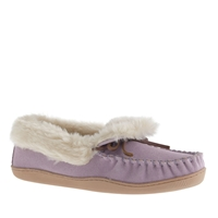 J.Crew Women's Lodge Moccasins Dried Lavender