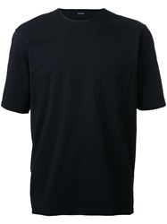 Christophe Lemaire Patch Pocket T Shirt Black