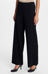 Ming Wang Wide Leg Pants Black