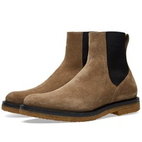 Dries Van Noten Crepe Sole Chelsea Boot Neutrals