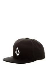 Volcom Stone Snap Back Hat Black