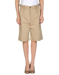Dsquared2 Knee Length Skirts Military Green