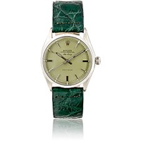 Vintage Watch Women's Oyster Perpetual Air King Green