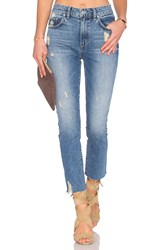 Lovers Friends Logan High Rise Tapered Jean Rossmore