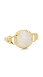 Pamela Love Luna Reveal Cuff Bracelet Moonstone Brass