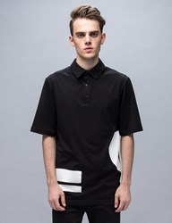 Mcq By Alexander Mcqueen Circle And Stripe Relaxed Polo
