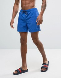 Tommy Hilfiger Solid Swim Shorts In Blue Blue