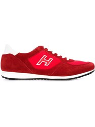 Hogan 'Olympia X' Sneakers Red