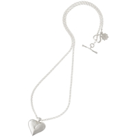 Dower And Hall Silver Heart Locket Pendant
