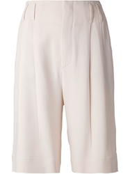 Brunello Cucinelli Knee Length Shorts Nude And Neutrals