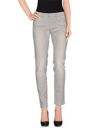 Tru Trussardi Denim Denim Trousers Women Grey