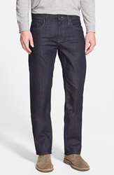 Mavi Jeans 'Zach' Straight Leg Jeans Rinse Williamsburg