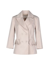 Ermanno Scervino Scervino Street Suits And Jackets Blazers Women Beige
