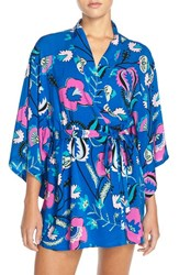 Women's Josie 'Spice Floral' Happi Coat Robe
