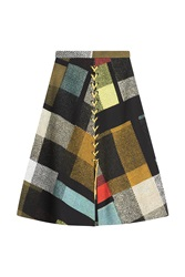 Preen By Thornton Bregazzi Printed Skirt Multicolor