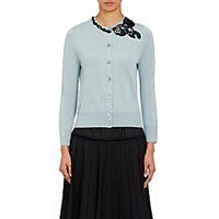 Marc Jacobs Women's Sequin Embellished Cardigan Light Blue