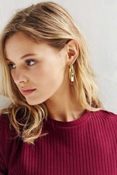 Urban Outfitters Tyler Hoop Earring Gold