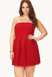 Forever 21 Party Time Pleated Dress