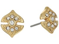 Vince Camuto Pave Studs Earrings Gold Earring