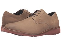 Dockers Traymore Taupe Snuffed Milled Full Grain Men's Lace Up Casual Shoes Brown