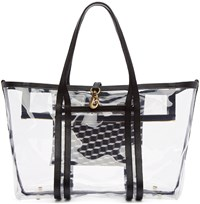 Pierre Hardy Clear Vinyl Polycube Tote