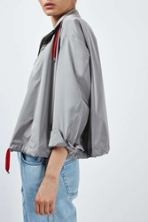 Boutique Cropped Anorak By Grey