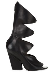 Marsell Marsell Cut Out Boots Black