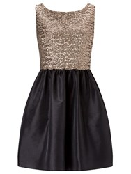 Ariella Leonie Sequin Prom Dress Multi Coloured