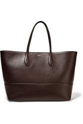 Rochas Leather Tote Red