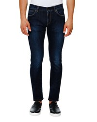Dolce And Gabbana Medium Wash Stretch Denim Skinny Jeans Dark Blue