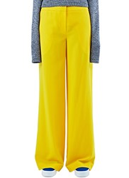 Bobby Kolade Benin Wide Leg Pants Yellow