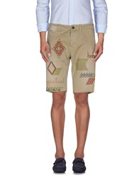 The Editor Trousers Bermuda Shorts Men Beige