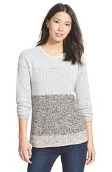 Women's Nic Zoe 'Lightcatcher' Colorblock Crewneck Sweater