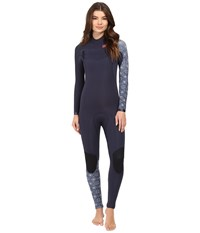 Billabong 403 Furnace Carbon Competition Chest Zip Wetsuit Blue Women's Wetsuits One Piece