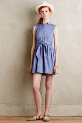 Anthropologie Oak Street Shirtdress Lavender