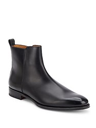 Valentino Italian Leather Ankle Boots Al Campion
