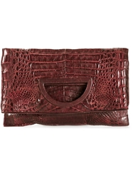 Rhonda Ochs 'Glory' Clutch Red