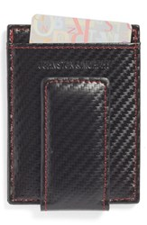 Men's Johnston And Murphy Money Clip Card Case