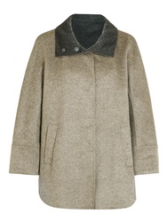 Gerry Weber Cape Coat Taupe