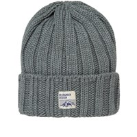 Mt. Rainier Design Knit Beanie Grey