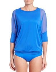 Coco Reef Weekend Top Cover Up Blue