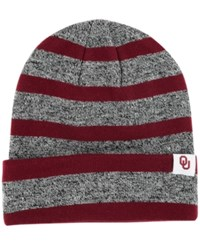 Top Of The World Oklahoma Sooners Celsius Knit Hat Crimson Heather Gray