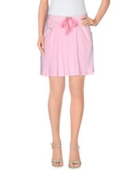 Ean 13 Skirts Mini Skirts Women Pink