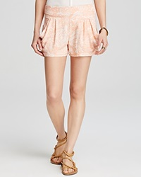 Free People Shorts Paisley Print Tea Combo