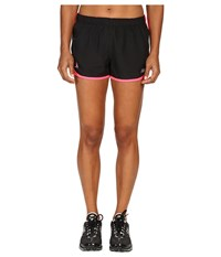 New Balance Lu Accelerate 2.5 Shorts Black Alpha Pink Women's Shorts
