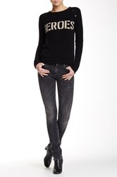 Zadig And Voltaire Eva Skinny Jean Gray