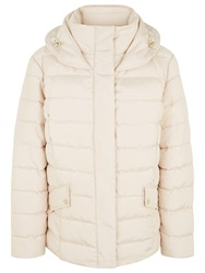 Kaliko Padded Collar Coat Champagne
