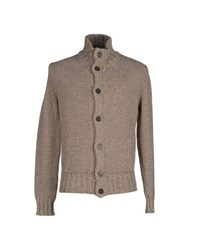 Kangra Cashmere Knitwear Cardigans Men Dove Grey